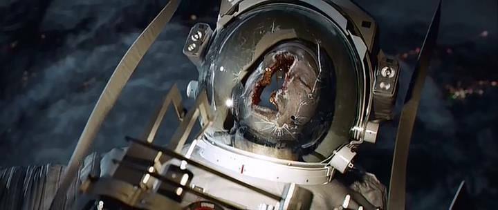 Dead Astronauts Gravity Movie Scene - Pics about space